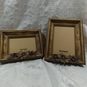 2 Pier One New Picture Frames Shabby Bronze Frames